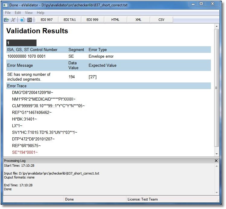 EDI Translator - EDI X12, EDIFACT, XML, CSV and database